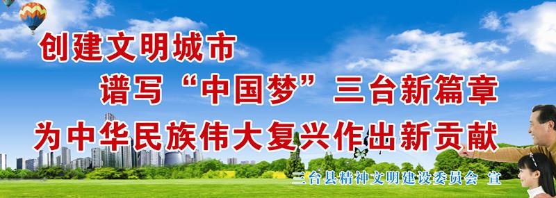 三台县文明办印制主题教育宣传画和宣传知识读本
